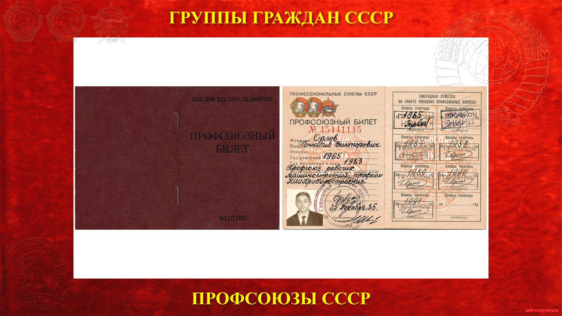 Орлов Г. В. - ПРОФСОЮЗНЫЙ БИЛЕТ за № 15441145