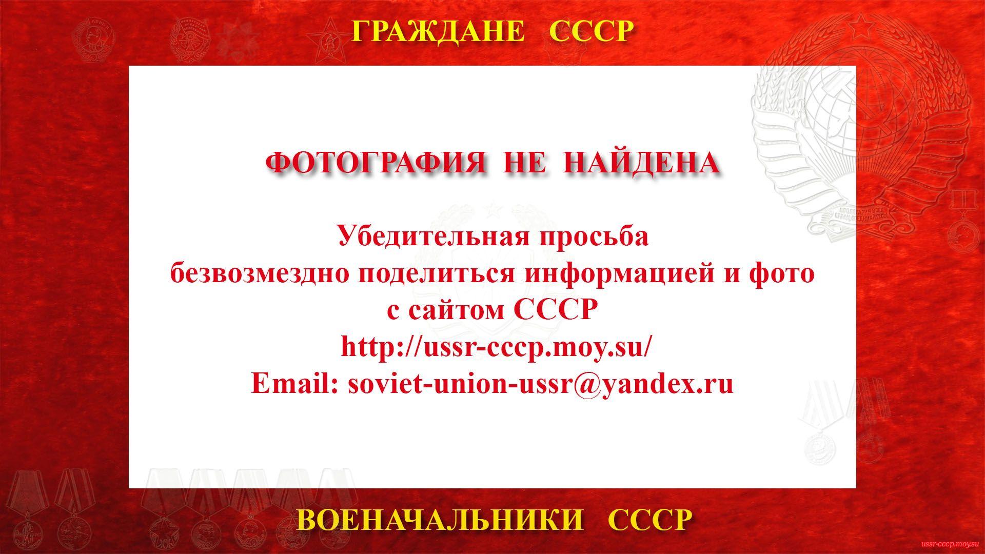 Денисин Аркадий Зиновьевич— Советский военачальник СССР — Полковник СССР (13.11.1903 — 28.11.1979)